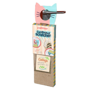 JZMYXA Door Hanging Cat Scratcher,Cat Cardboard Scratcher and Catnip
