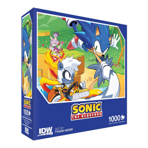 IDW Games Sonic The Hedgehog: Too Slow! Premium Jigsaw Puzzle