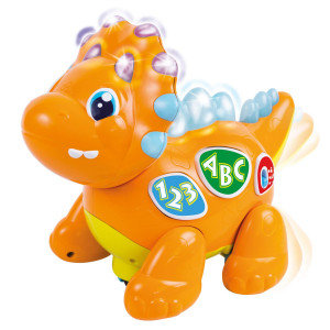 Izzy The Dinosaur: Dancing Interactive Extra Cute Music Toy. Light-Up Walking Robot Dinosaur / Animal Learning Dino Toy for Babies andToddlers. Development Toys for Playtime Fun Series. 18 Months and Up