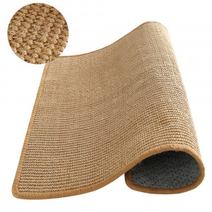 """MandMKPET Natural Sisal Cat Scratching Mat,Scratching Post for Cat/Kitty Grinding Claws and Protecting Furnitures(23.6"""" 23.6"""")"""