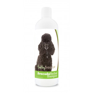 Healthy Breeds Herbal Avocado Shampoo for Dry Itchy Skin - For Dogs with Allergies or Sensitive Skin - Safe with Flea and Tick Topicals - Herbal Scent - 16 oz