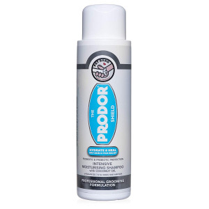 PRODOR Prebiotic Anti Itch Shampoo - for Dogs with Dry Skin and Sensitive Skin   A Natural Oatmeal Bath   Dog Probiotics Moisturize, Clean and Condition Hair   Coconut and Vanilla   Hypoallergenic 16 oz