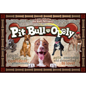 Late for the Sky PITB Pit Bull-Opoly Board Games