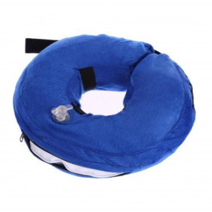 shizongmaoyi Recovery Protective E-Collar Inflatable Cone for Dogs and Cats Injuries Rashes Surgery
