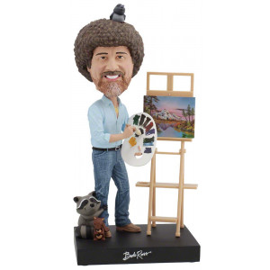 Royal Bobbles Bob Ross 2018 SDCC Exclusive Bobblehead ONLY 1,000 Numbered Pieces