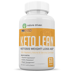 Keto Pills Advanced Weight Loss - for Men and Women - All-Natural Ingredients - Energy Booster - Appetite Suppressant - One Month Supply - Nature Driven