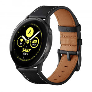 Aresh Compatible Samsung Galaxy Watch(40mm) Bands,Replacement Wrist Bands,20mm Genuine Leather Strap Band Compatible Samsung Galaxy Watch (42mm) SM-R810 /Galaxy Watch Active (40mm)