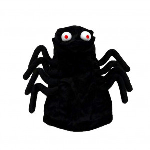 Coppthinktu Spider Dog Costume - Halloween Funny Spider Style Costume Hoodies Outfit Apparel