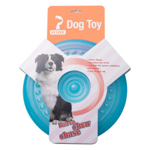 Petper Dog Flying Disc Toy, Dog Frisbees Indestructible 9 inches