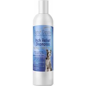 Pets Destiny Itch Relief Shampoo for Dogs, Cats and Horses