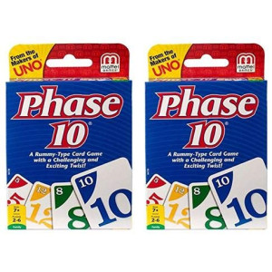 Made In USA Shop UNO Phase 10 2 Pack