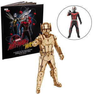 IncrediBuilds Marvel Ant-Man and The Wasp Book and 3D Wood Model Kit - Build, Paint and Collect Your Own Wooden Model - Great for Kids and Adults, 12+ -