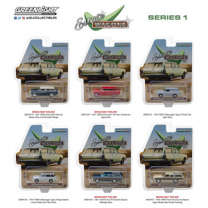 1:64 Estate Wagons Series 1 (29910) - Includes 6 Different Vehicles
