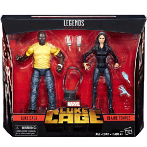 Marvel Legends Luke Cage and Claire Temple 2 Pack Exclusive