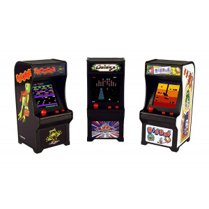 Tiny Arcade Set of 3 - Frogger ~ Galaga ~ Dig Dug