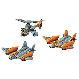 Privateer Press PIP51003 Monsterpocalypse: Protector G.U.A.R.D. Unit - Strike Fighters and Rocket Chopper (Resin), One Size