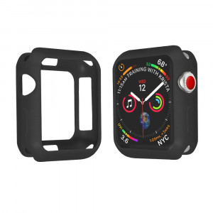 SPGuard Compatible Apple Watch Series 4 (44mm) Case, Ultra-Thin Lightweight and Wear-Resistant Frosted Smartwatch Case(TPU) for Apple Watch Series 4 (Black)