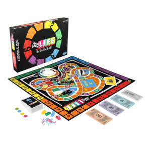 Hasbro Gaming The Game of Life: Quarter Life Crisis Board Game Parody Adult Party Game