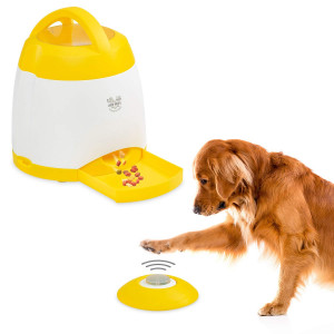 Arf Pets Dog Treat Dispenser  Dog Puzzle Memory Training Activity Toy  Treat While Train, Promotes Exercise by Rewarding Your Pet, Cat, Improves Memory and Positive Training for A Healthier and Happier