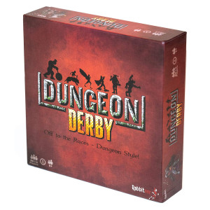 Dungeon Derby Board Game - A Push Your Luck Strategy Game - Standard Edition