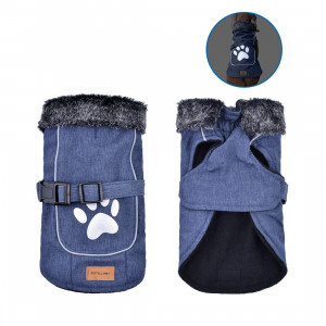 Dog Jacket Pet Dog Coat Vest Puppy Waterproof Nylon Outdoor Pet Jacket in Winter for Small Medium Large Dogs