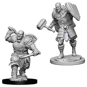 WizKids DandD Nolzur's Marvelous Miniatures - Male Goliath Fighter`w