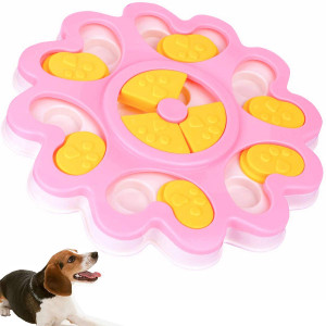 Seafirst Dog Food Dispenser Puzzle Toy Puppy Treat Food Dispensing Bowl Dog Training Puppy Puzzle Game Slow Feeder  Funny Entertainment Improve IQ Slow Down Feed