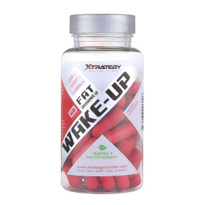 Fat Burner Wake-UP XTRATEGY Nutrition by Coach Bueno Supplement Appetite SUPPRESSANT Energy Booster ACELERATE Metabolism