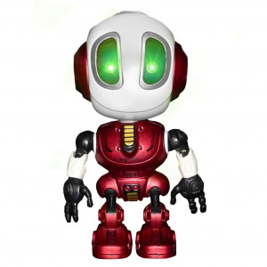 DX DA XIN Intelligent Talking Robot Toy, Kids Robot Toys Repeats What You Say Mini Interactive Robot Toys Gifts for 3-10 Years Old Boys Girls (Red)