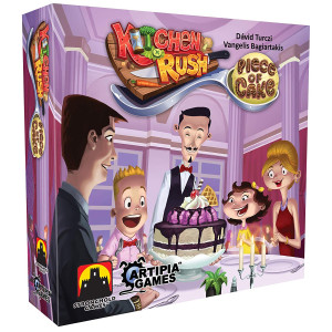 Stronghold Games 7160SG Kitchen Rush Piece of Cake