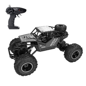 RC Car GhoSTar Toys 2018 Latest 2.4 GHz High Speed Remote Control Car 1/16 Off Road RC Truck 4 WD Rock Crawler RC Vehicle Gifts for All Adults Kids (Grey)