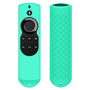 Fordesign Silicone [Anti Slip] Shockproof Case for All-New Fire TV with 4K Alexa Voice Remote (2017 Edition) (2nd Gen) / Fire TV Stick Alexa Voice Remote-Mint