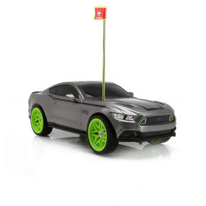 RC CHARGERS Vaughn Gittin Jr. Ford Mustang RTR RC Car | 1:16 Scale, Ready to Rock | AA Batteries Included