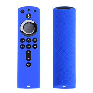 ACEIken Cover/Case for Fire TV Stick 4K / Fire TV Cube/Fire TV (3rd Gen) Compatible with All-New 2nd Gen Alexa Voice Remote Control(Blue)