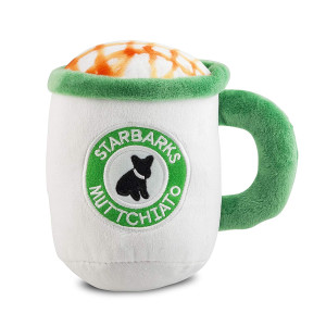 Haute Diggity Dog Starbarks Coffee Collection | Unique Squeaky Plush Dog Toys  Canine Caffeine Your Dog Can Handle!
