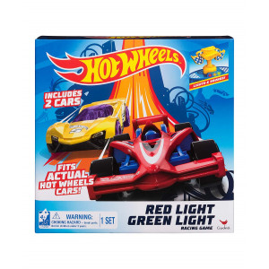 Hot Wheels Red Light Green Light Action Racing Game - Includes 2 Cars