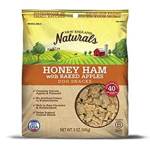 New England Naturals Honey Ham w/Baked Apples Dog Snacks
