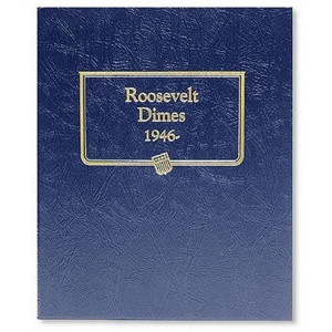 Whitman US Roosevelt Dime Coin Album 1946 - Date #3394