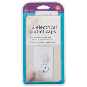 KidCO 12 Count Electrical Outlet Cap