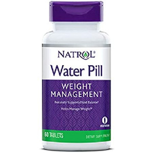 Natrol Water Pill Tablets, 60-Count