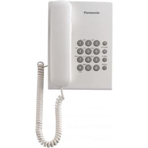 Panasonic KX-TS500W Corded Phone, White