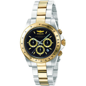 Invicta Men's 9224 Speedway Collection S Series Two-Tone Stainless Steel Watch with Link Bracelet