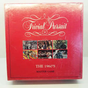 Parker Brothers Trivial Pursuit The 1960's Master Game
