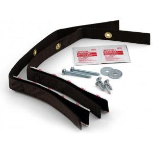Ready America Quake Hold Adjustable Big Screen and Appliance Strap, 6' L, 500 lb, Nylon