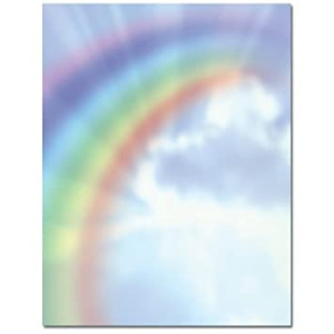 (Price/Pack)Masterpiece Studios 972943 Rainbow Bright Letterhead