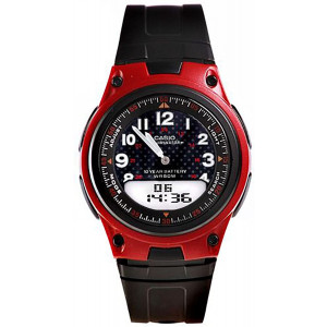 Casio General Men's Watches Digital-Analog Combination with 10 Year Battery Life AW-80-4BVDF - WW