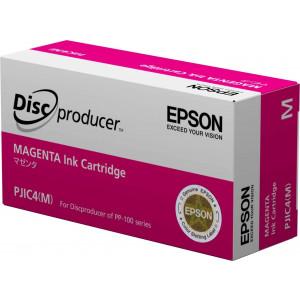 Epson DiscProducer PP-100/PP-50 C13S020450 Ink Cartridge (Magenta, 1-Pack) in Retail Packaging