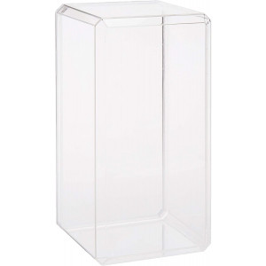 "Pioneer Plastics Clear Acrylic Display Case for 1:24 Scale Cars, 9"" x 4.375"" x 4.125"""