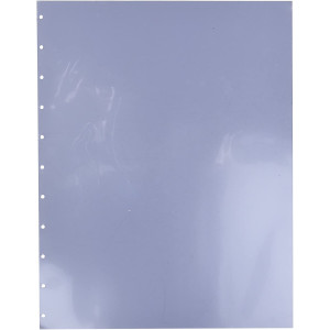 GBC GBC9743070 VeloBind Clear View Economy Presentation Covers, Square Corners, Clear, Economy Weight, 25 Pieces Per Box