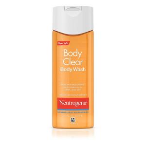 3-PACK Neutrogena Body Clear Acne Body Wash with Glycerin and Salicylic Acid Acne Medicine for Acne-Prone Skin, Non-Comedogenic, 8.5 fl. Oz